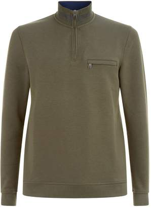Ted Baker Leevit Zipped Sweater