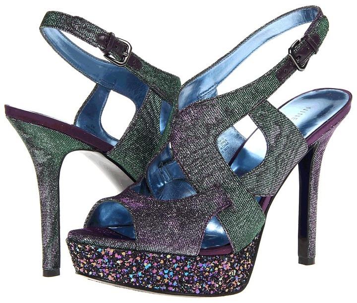 Nine West Fontia (Purple Fabric) - Footwear