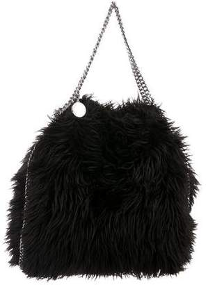 Stella McCartney Large Faux Fur Falabella Tote