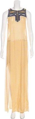 Sass & Bide Silk Sleeveless Maxi Dress