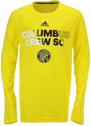 adidas Columbus Crew Sc Striker T-Shirt, Big Boys (8-20)
