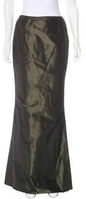 Pamela Dennis Silk Maxi Skirt