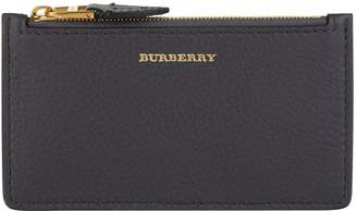 Burberry Leather Zipped Card Holder
