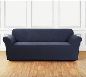 Sure Fit Ultimate Stretch Chenille Box Cushion Sofa Slipcover