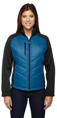 North End Sport Red Epic Ladies' Insulated Hybrid Bonded Fleece Jacket 78662