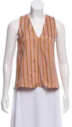 Giada Forte Striped Sleeveless Top