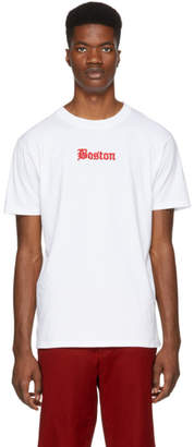 Marcelo Burlon County of Milan White Boston Red Sox Edition T-Shirt