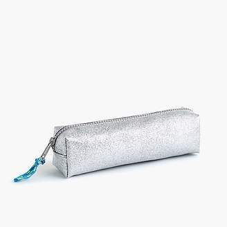 J.Crew Girls' glitter pencil case