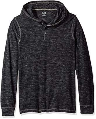 Lee Men's Button Hoodie (Various Colors and Sizes Including Big and Tall)