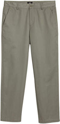 H&M Relaxed Chinos - Green
