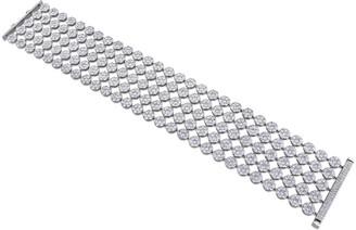 Diamond Select Cuts Certified 18K 17.00 Ct. Tw. Diamond Floral Bracelet