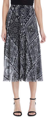 Fuzzi Stampa Crochet Patch Full Skirt