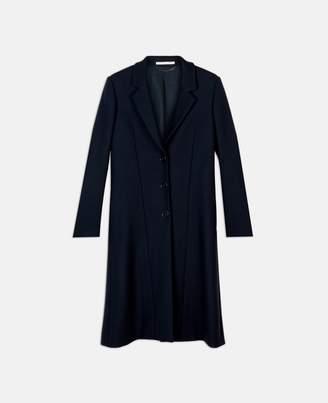 Stella McCartney katie blue wool coat