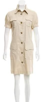 RED Valentino Short Sleeved Mini Dress
