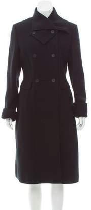 Bottega Veneta Wool & Cashmere-Blend Double-Breasted Coat w/ Tags