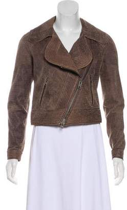 Yigal Azrouel Cut25 by Asymmetrical Leather Jacket