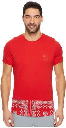 Reebok F Bandana Print Tee Men's T Shirt