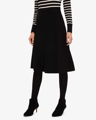 Phase Eight T) Francis Full Knit Skirt