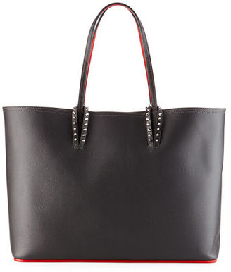 Christian Louboutin Cabata East-West Leather Tote Bag $1,250 thestylecure.com