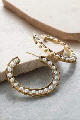 Soft Surroundings Karina Hoop Earrings