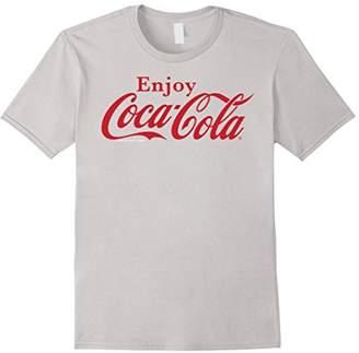 Coca-Cola Enjoy Logo Red Graphic T-Shirt
