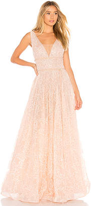 Bronx and Banco Emily Blush Gown