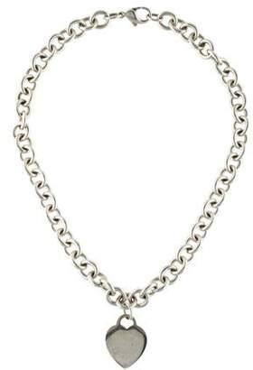 Tiffany & Co. Heart Tag Pendant Necklace