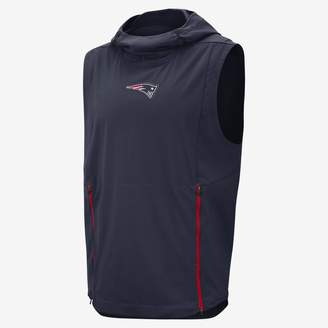 Nike Shield Fly Rush (NFL Patriots) Men's Hooded Pullover Vest