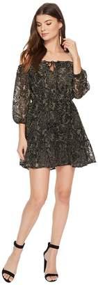 BB Dakota Westerly Velvet Burnout Dress Women's Dress