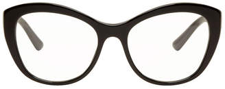 Dolce & Gabbana Black Cat-Eye Glasses
