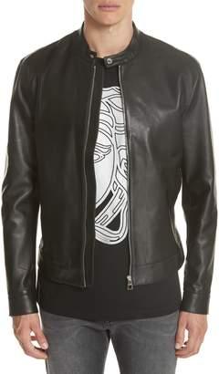 Versace Moto Leather Jacket