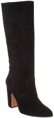 Vince Camuto Suede Fringe Detailed Tall Shaft Boots - Coranna