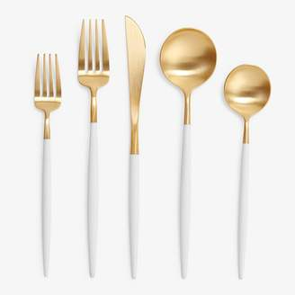 Goa by Cutipol 5 Piece White Gold Place Setting