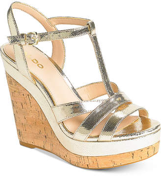 Aldo Nydaycia Wedge Sandals Women's Shoes