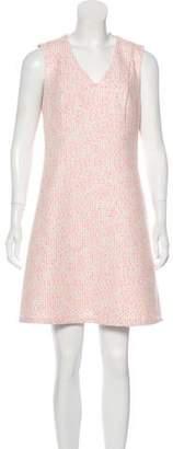 Julie Brown Jacquard Mini Dress