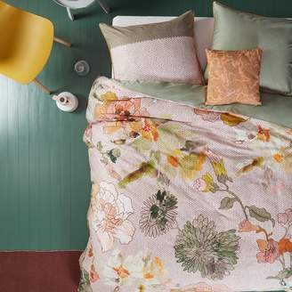 Oilily Knitted Rose Cotton Sateen Quilt Cover Set