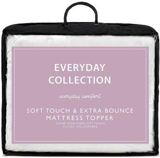 Everyday Collection Soft Touch & Extra Bounce Mattress Topper Db