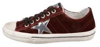 Golden Goose VStar2 Velvet Sneakers