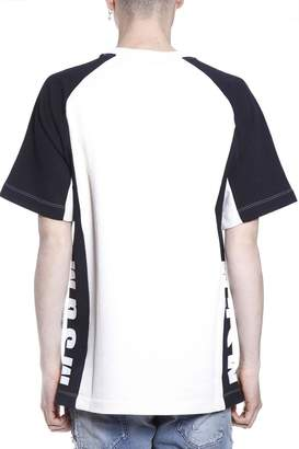 MSGM T Shirt With Wide Sleeves