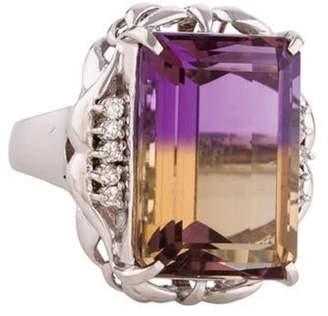 Ring Ametrine & Diamond Ametrine & Diamond
