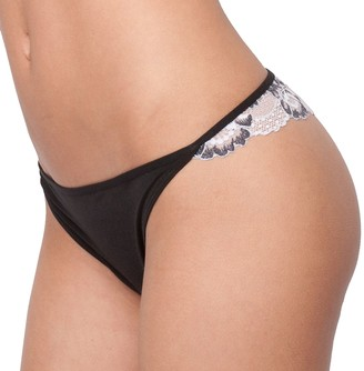 Candies Juniors' Candie's Microfiber Cross-Dye Thong