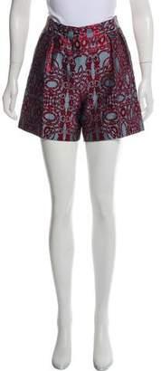 Dries Van Noten Patterned Mini Shorts