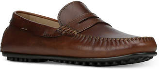 Donald J Pliner Men's Sander Penny Moc-Toe Drivers Men's Shoes