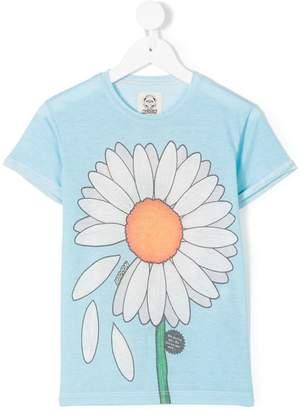 Madson Discount Kids daisy print T-shirt