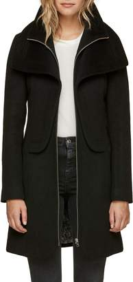 Soia & Kyo Slim Fit Wool Blend Coat