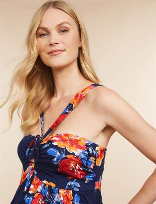 54e2de69d78 ... Jessica Simpson Motherhood Maternity Halter Maternity Dress