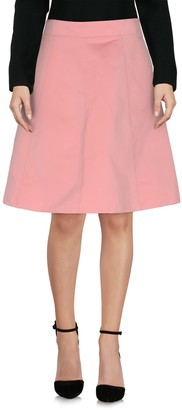 RED Valentino Knee length skirts - Item 35304980LR