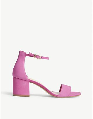 Aldo Villarosa suede heeled sandals