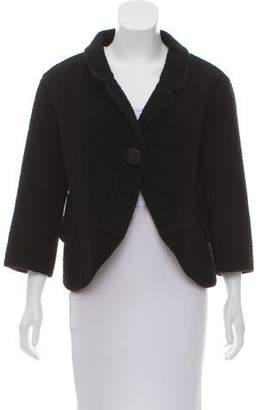 Marc Jacobs Textured Wool-Blend Jacket