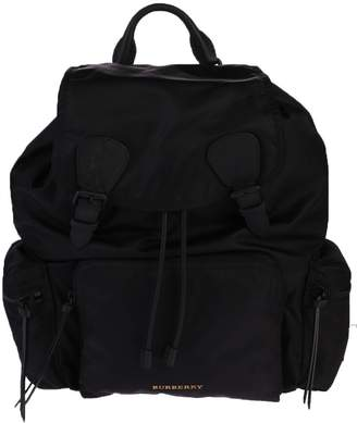 Burberry Black Buckled Backpack